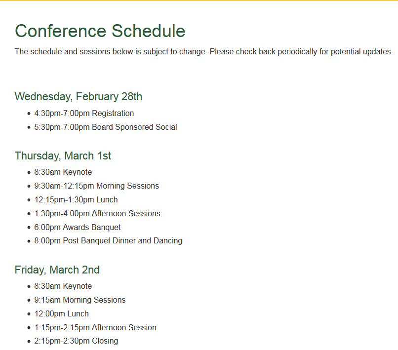 Statewide Transition Conference For >> Conferences Events Notifications